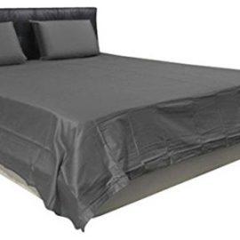 Plain Grey Bedsheet1